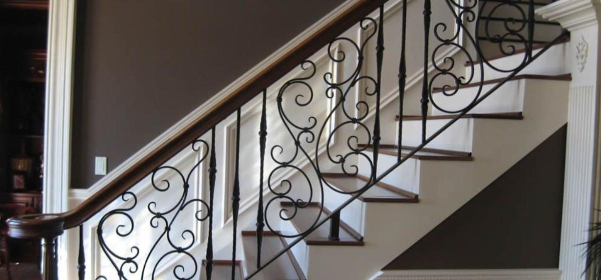 Barandales de herrer a para escaleras en monterrey Escaleras herreria para interiores