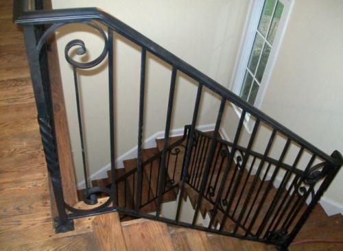 barandal de hierro forjado para escaleras en monterrey nuevo leon