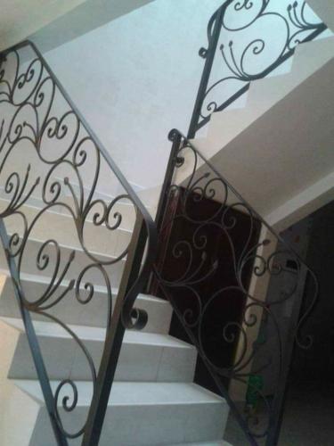 barandales de forja para escaleras residenciales santa catarina
