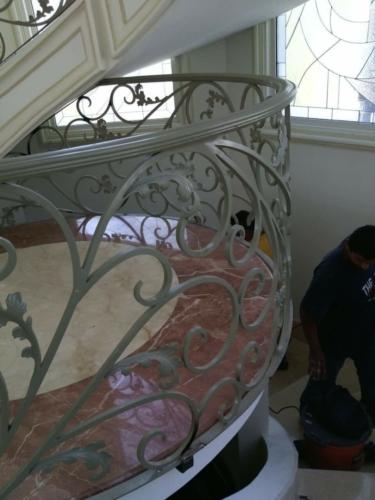 barandales de hierro forjado escaleras de caracol en monterrey