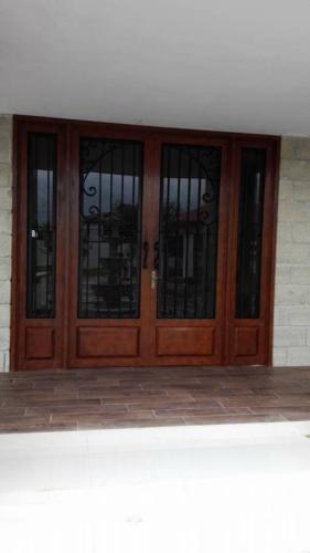 puertas de forja con fijos en monterrey