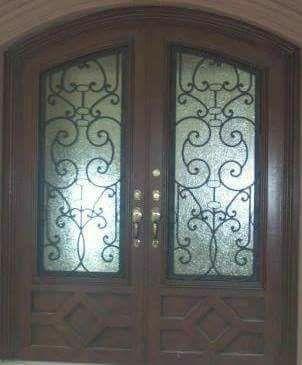 puertas de forja en apodaca