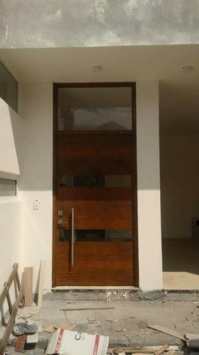 puertas de forja y madera en monterrey